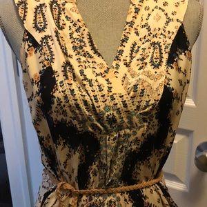 Silk Gypsy Maxi Dress